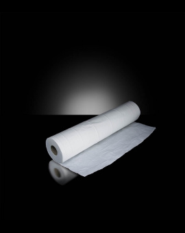 Draps d'examen blanc 2 plis 50cmx38cm 150 Pièces