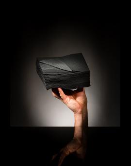 Serviette Premium Euronda Noir