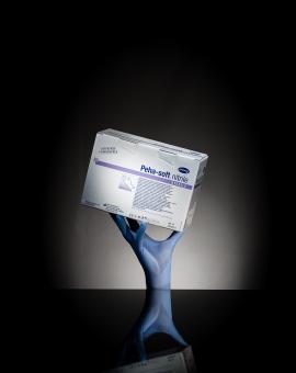 Gants d'examen nitrile bleus Hartmann stériles – Boîte de 50 paires