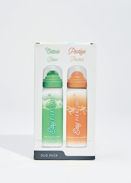 Easypiercing® Duo Pack - Cleansing Foam / Hygienic Solution