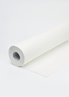 Two-ply white exam sheets 50cmx38cm – Rolls of 150 pieces